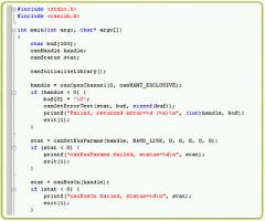 ソフトウエア開発キット(Kvaser CANlib SDK)