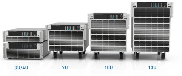 クロマジャパン(株) プログラマブル直流電子負荷63200Aシリーズ 全36モデルラインナップ完成