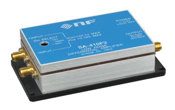 (株)エヌエフ回路設計ブロック 低雑音増幅器 SA-410F3